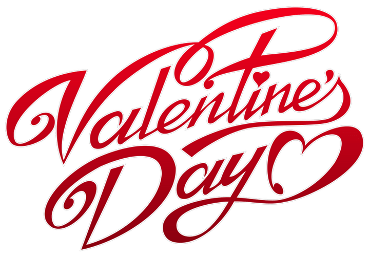 Valentines Day Png Transparent - Valentines Day Text transparent PNG - StickPNG