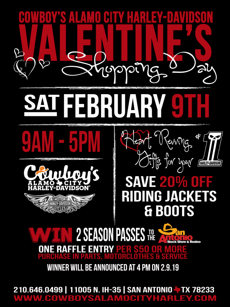 Rodeo Cowboy Valentines Day Png - Valentine's Shopping at Cowboy's H-D | Cowboy's Alamo City Harley ...