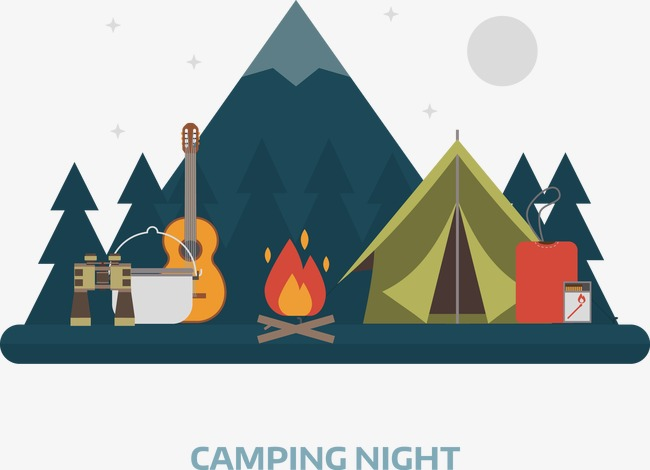 Camp Png - vector camping, Vector, Decoration, Camping PNG and Vector