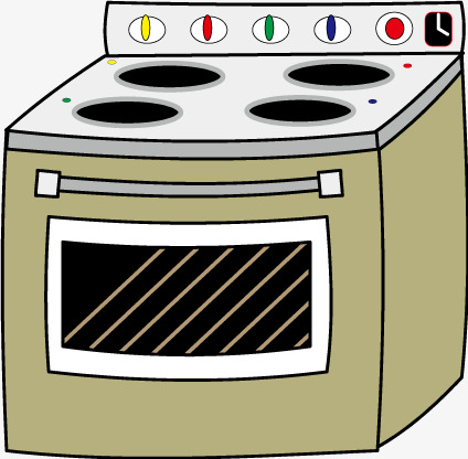 Vector Cartoon Oven, Cartoon Vector, Oven, Vector Cartoon PNG and ...