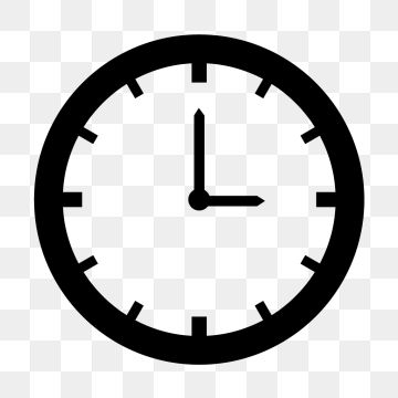 Clock İcon Png - Vector Clock Icon, Clock, Time, Timer PNG and Vector with ...