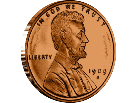 Png Penny Pluspng - Penny Coin Clipart (#140637) - PikPng