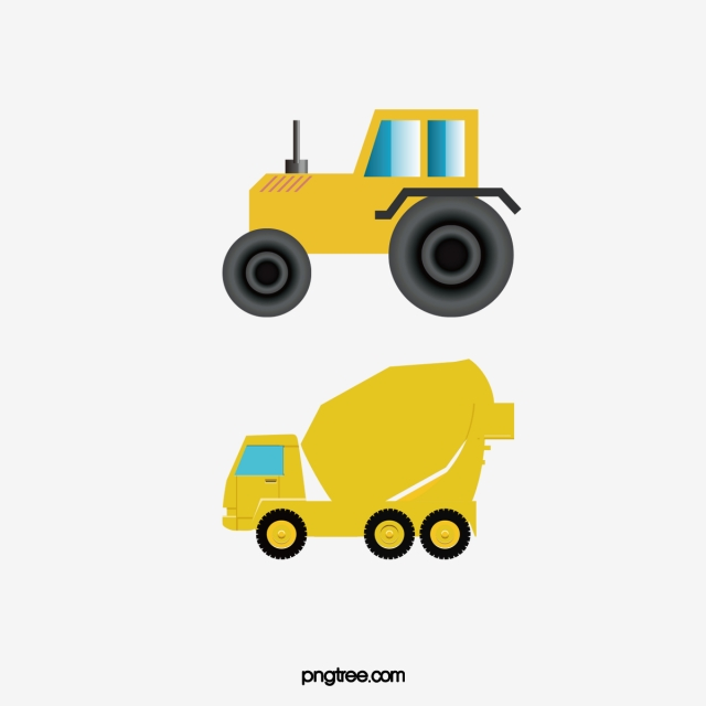Car Construction Png - Vector Concrete Mixer Truck, Vector, Jug Car, Construction ...