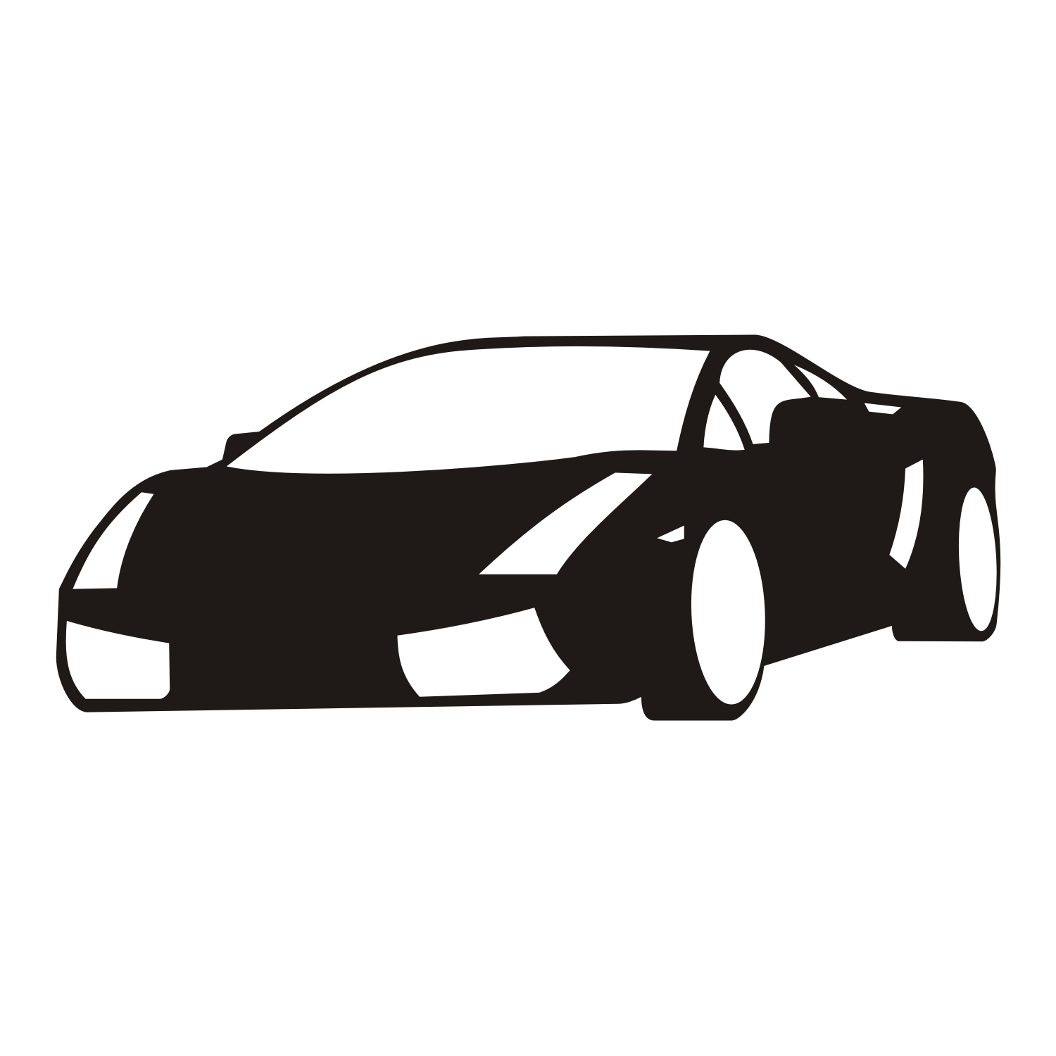 Sports Car Png Black And White Free Sports Car Black And White Png
