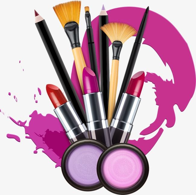 Makeup Brush Cartoon Png - Vector Makeup, Makeup, Cartoon Makeup, Lipstick PNG Transparent ...