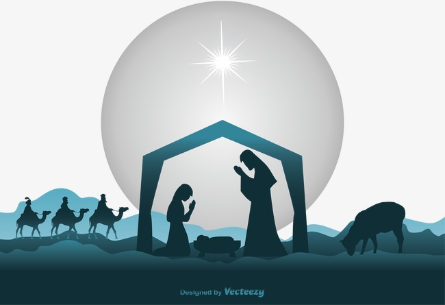 Free Png Nativity Scene - Vector Nativity Scene, Nativity, Born, Vector PNG and Vector for ...