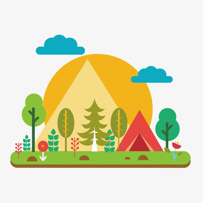 Camp Png - vector outdoor camping, Vector, Outdoor, Camping PNG and Vector