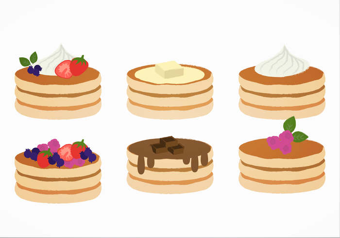 Free Png Pancakes - Vector Pancakes - Download Free Vector Art, Stock Graphics & Images