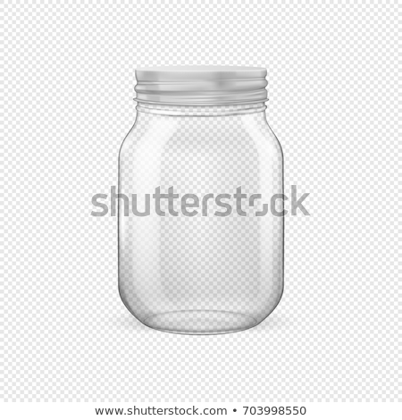 Mason Jar Png No Background - Vector Realistic Empty Glass Jar Canning Stock Vector (Royalty ...