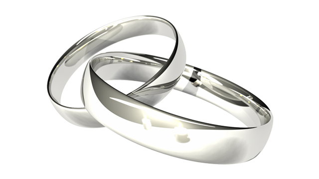 Wedding Rings Transparent Background