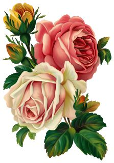 Victorian Rose Png - Victorian Roses Clipart – 101 Clip Art #266629 - PNG Images - PNGio