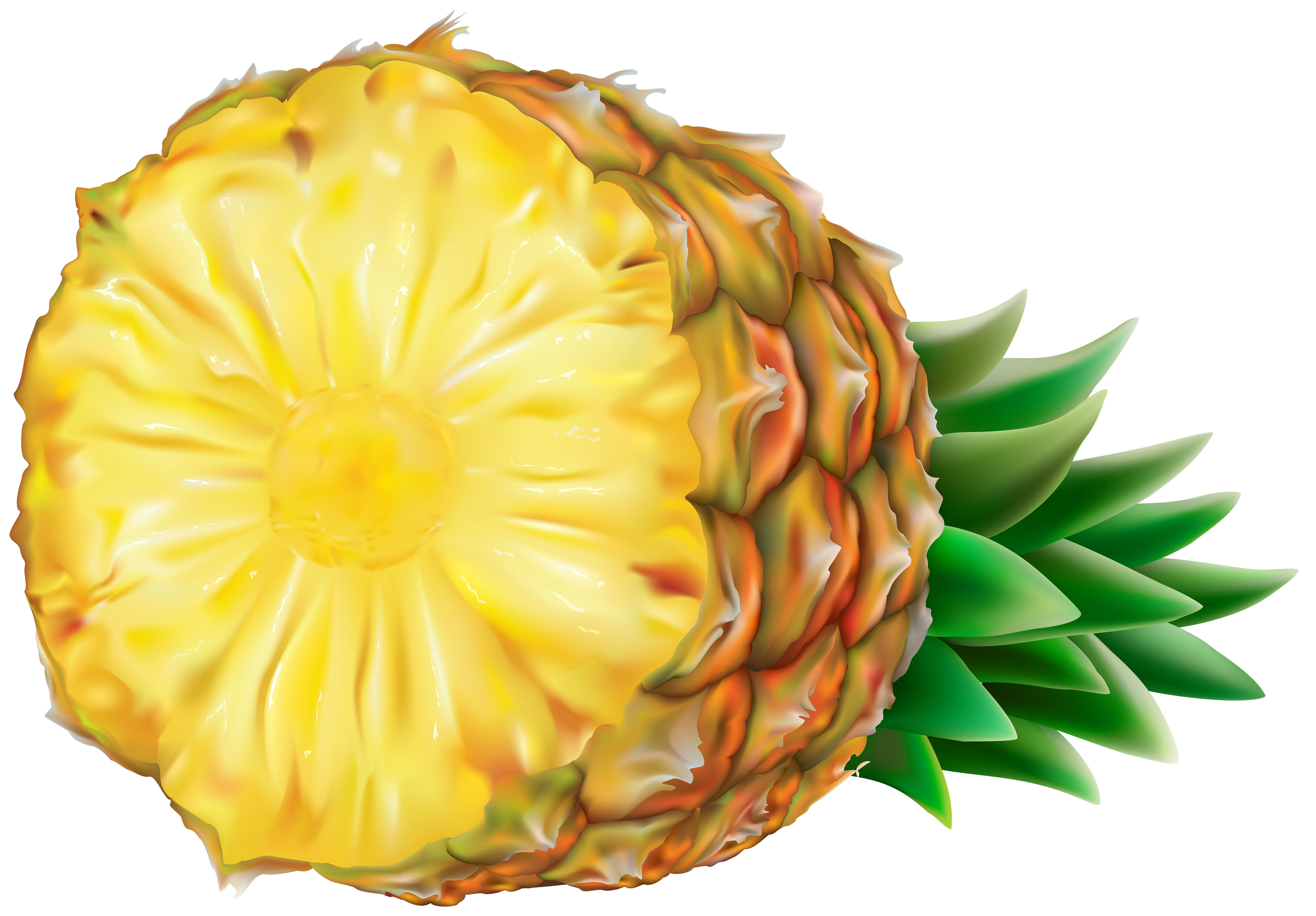 Cool Pineapple Png - View full size ?