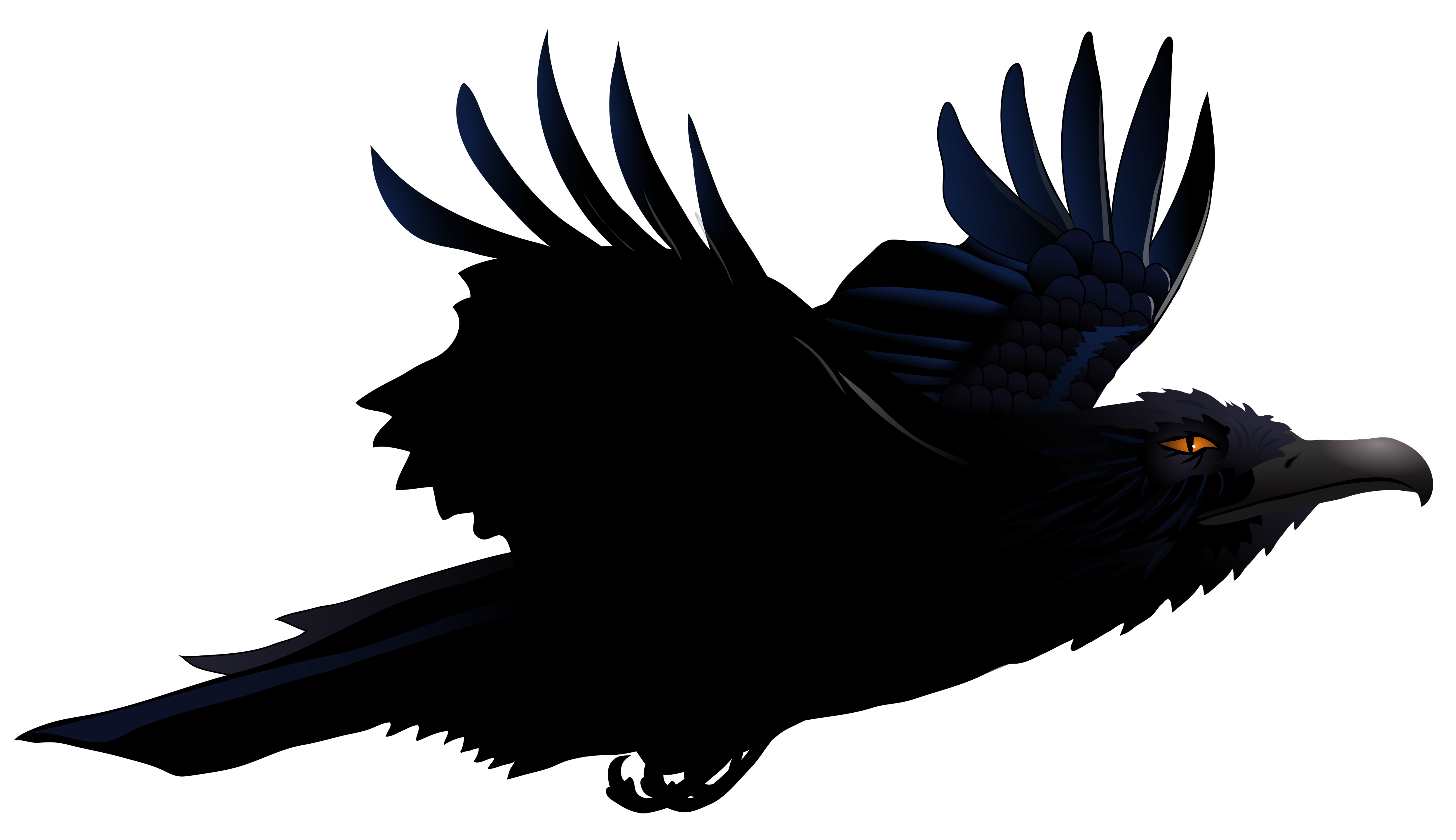Raven Png - View full size