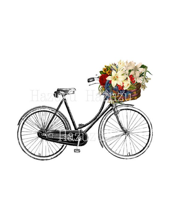 Vintage Bicycle Png - Vintage Bicycle PNG bike clip art vintage transparent | PNGio