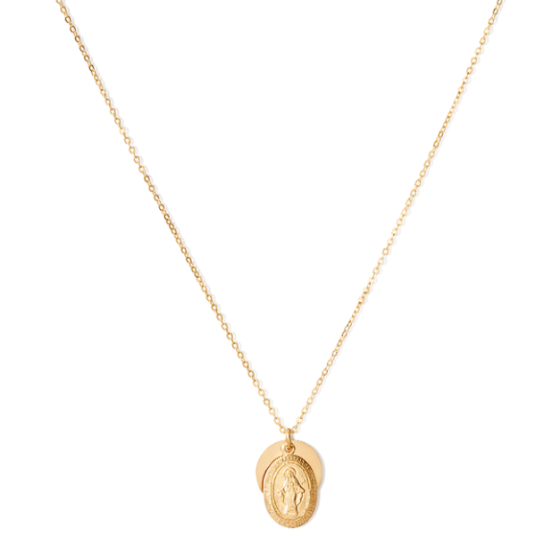 Golden Coin Necklace Png - VINTAGE COIN NECKLACE – ERTH