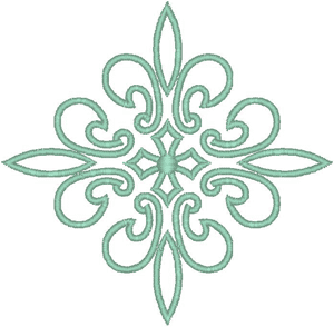 Embroidery Png - Vintage Ecclesiastical Design 34 Embroidery Design