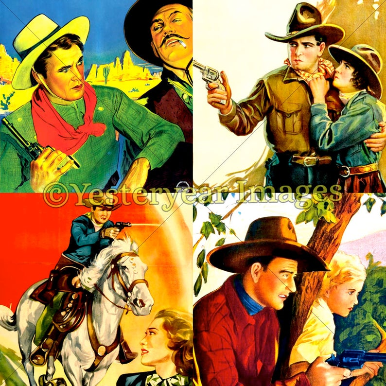 picture regarding Movie Posters Printable referred to as Traditional WESTERNS Video clip Posters Artwork B Pri #402744 - PNG