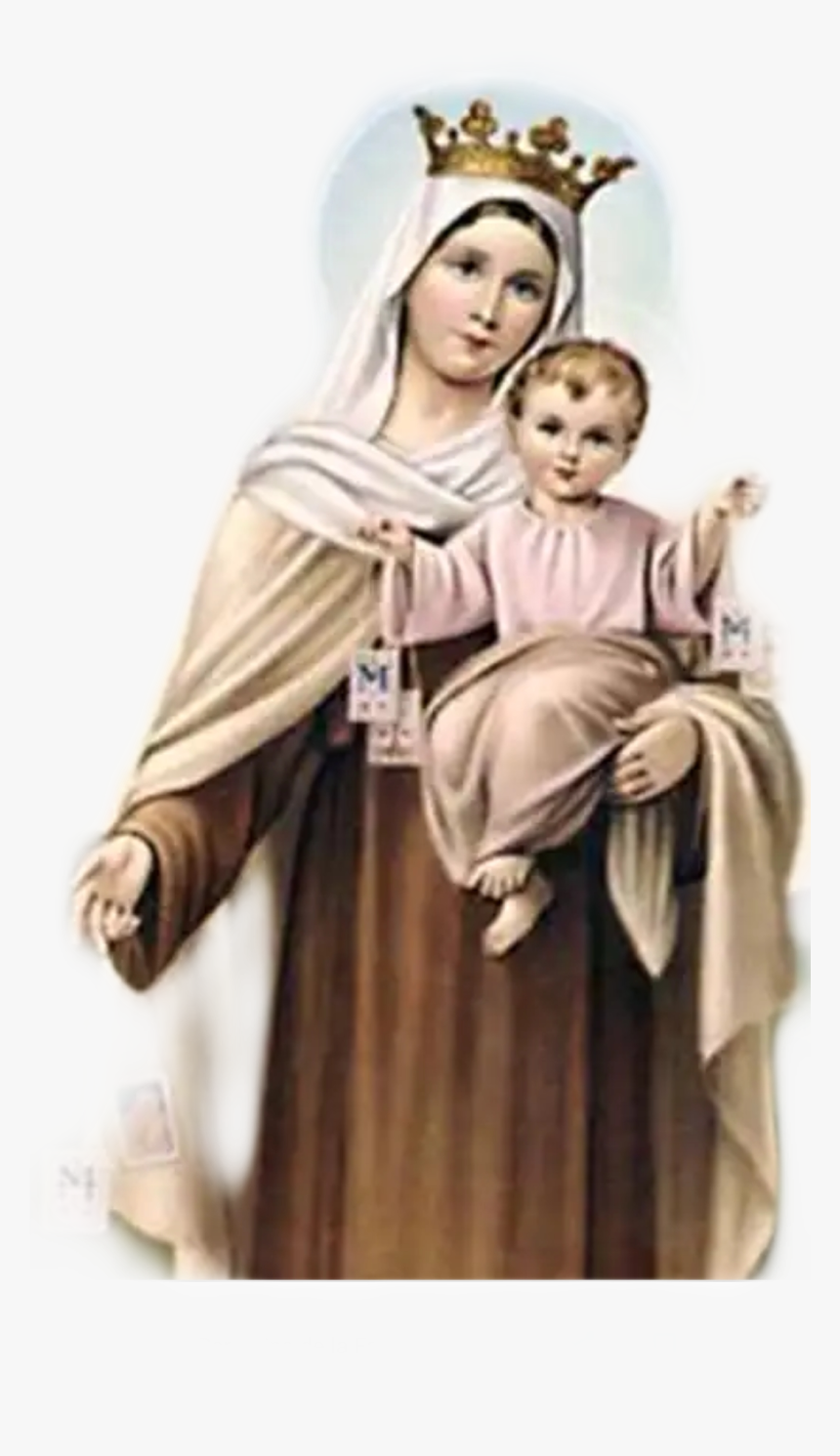 Carmel Png - Virgen Del Carmen - Our Lady Of Mt Carmel Prayer, HD Png Download ...