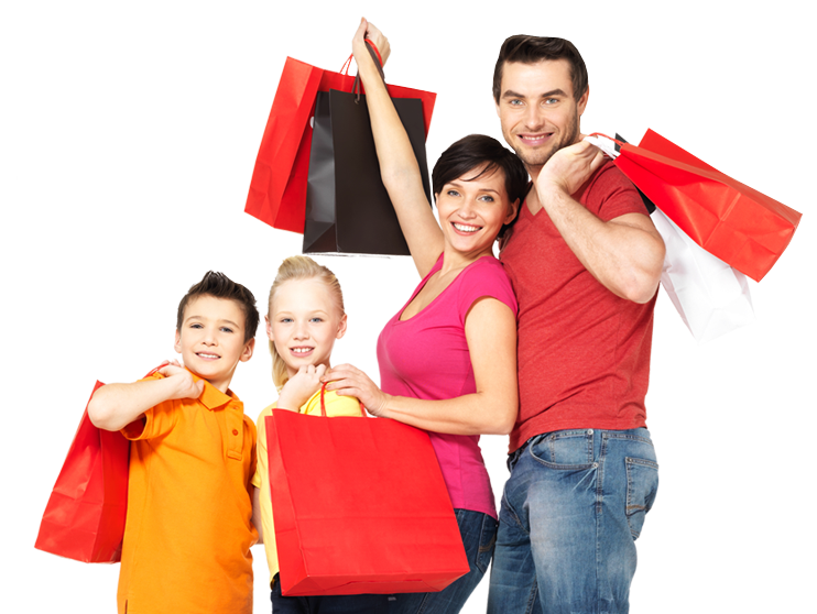 Shopping Family Png - Walk Vector Family Shopping Transparent & PNG Clipart Free ...