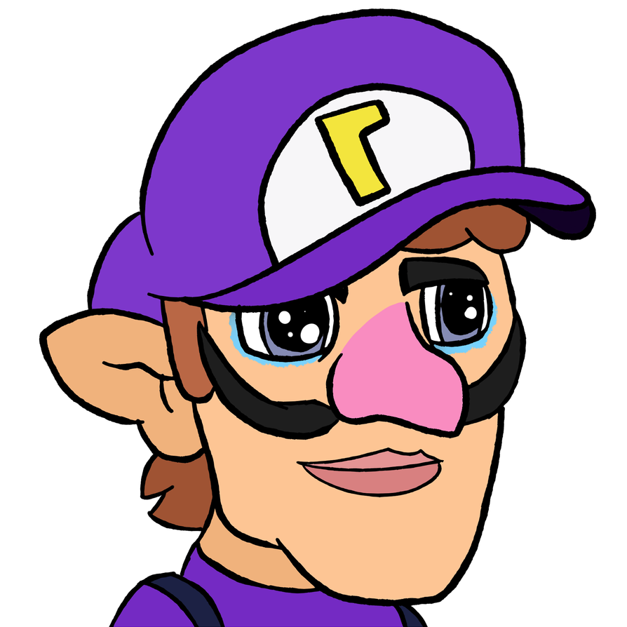 Waluigi Head Png & Free Waluigi Head.png Transparent ...