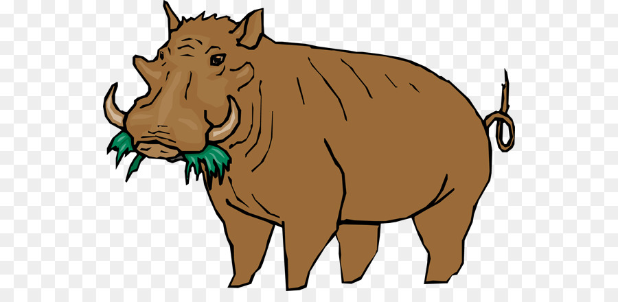 Common Warthog Png - Warthog Cliparts png download - 600*424 - Free Transparent Common ...