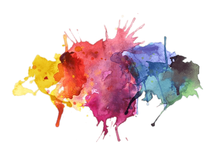 Transparent Paint Splatter - Water Colors Paint Splatter transparent PNG - StickPNG