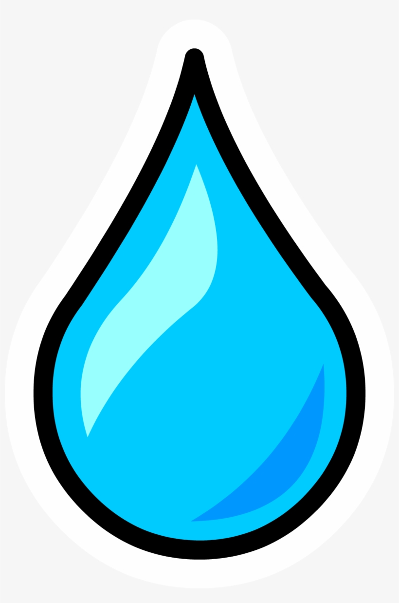 Water Drop Clipart Png - Water Droplet Pin - Drop Of Water Clipart - Free Transparent PNG ...