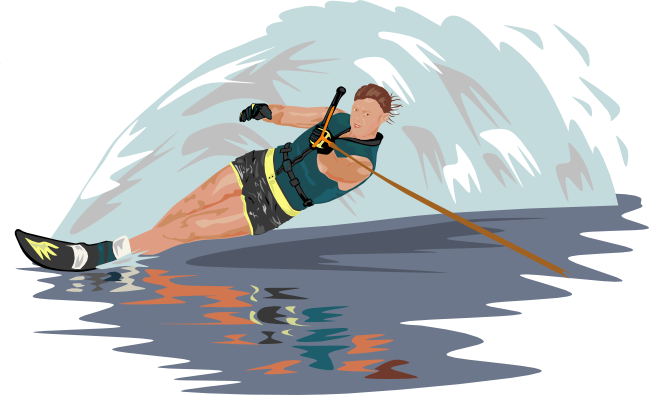 Kayak Clipart Watersports - Water Activity Clipart Png, Cliparts & Cartoons  - Jing.fm