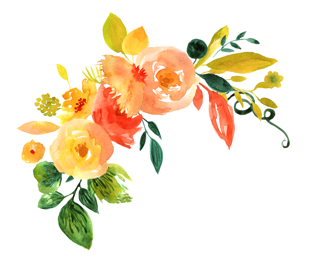 Watercolor Flowers Png Vector Psd And Clipart With