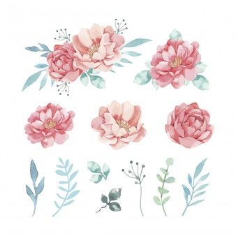 Png Watercolor Flowers - Watercolor Flowers Vectors, Photos and PSD files | Free Download