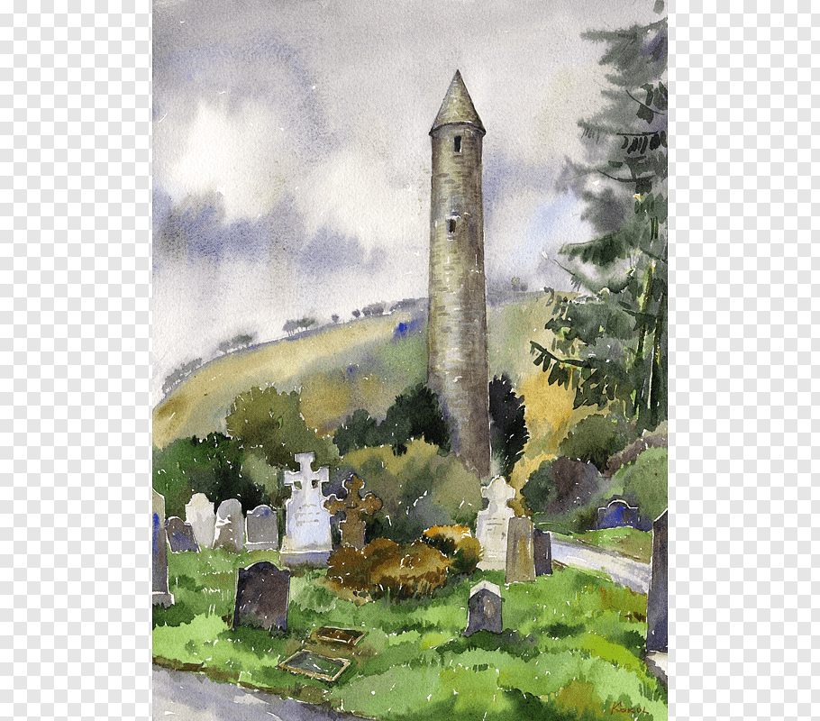 Ludmila Korol Png - Watercolor painting Ireland in Watercolour Ludmila Korol Art ...