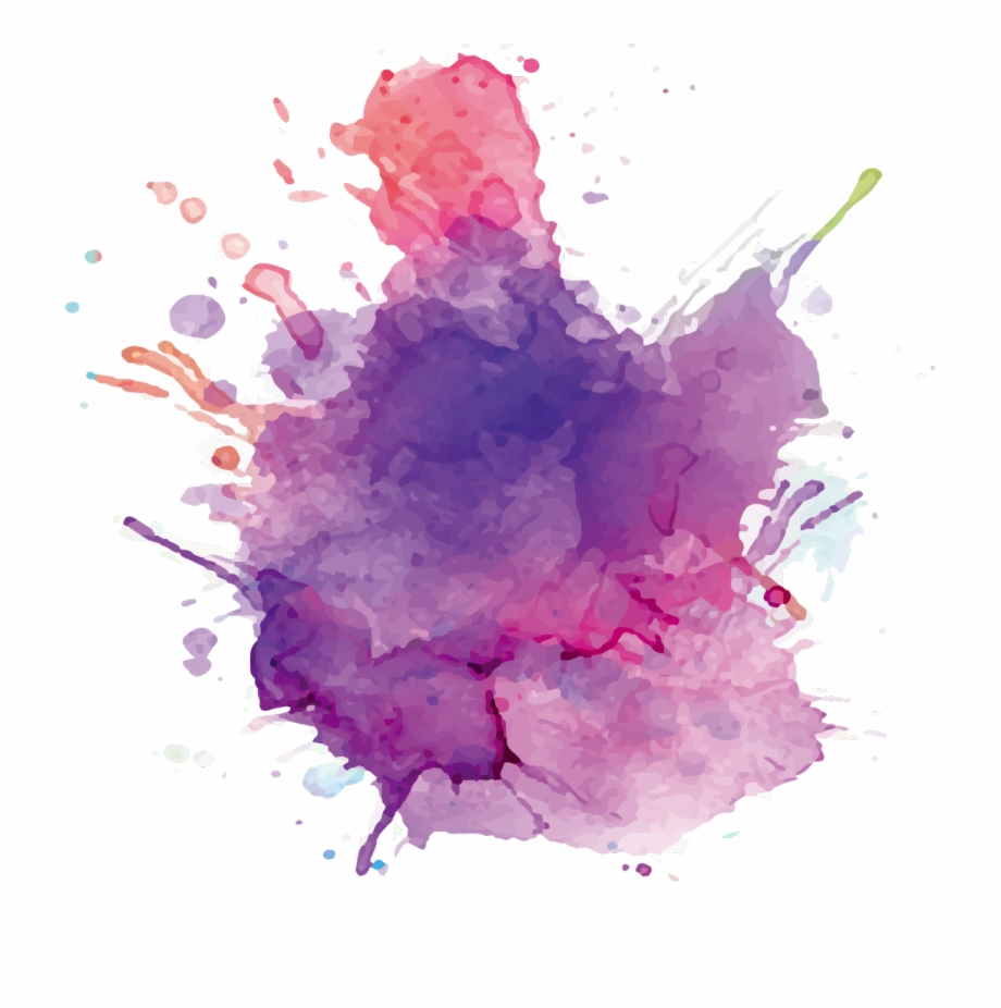 Transparent Paint Splatter - Watercolor Splatter Transparent Free PNG Images & Clipart Download ...