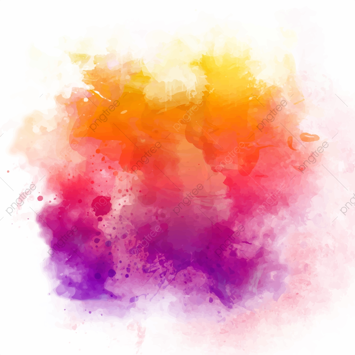 Watercolor Texture Png - Watercolor Vector Background Design, Watercolour, Background ...