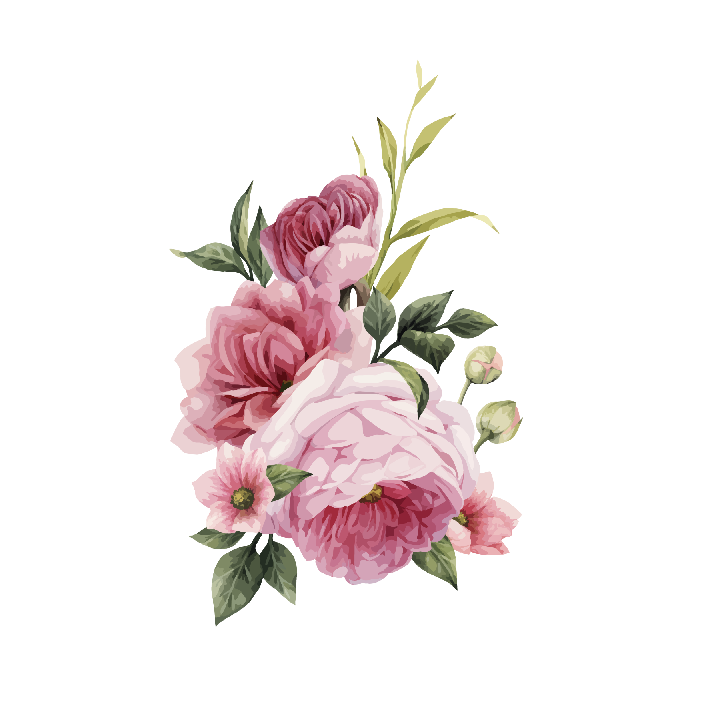 Watercolor Flowers Png Vector Psd And Clipart With: Png Pics Of Flowers & Free Pics Of Flowers.png Transparent
