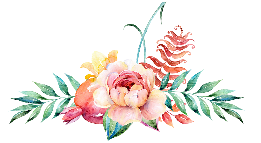 Border Flower Png - Watercolour Flower Border Png Vector, Clipart, PSD - peoplepng.com