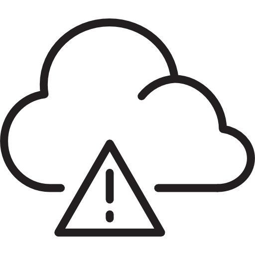 Weather Warning Png - Weather, warning, cloud Free Icon of Weather Icons light