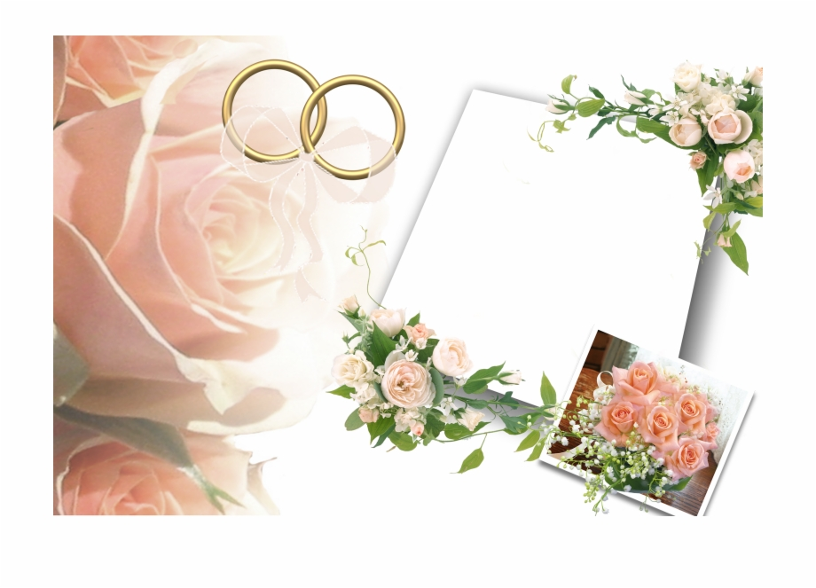 Wedding Background Images Png - Wedding Background Png - Wedding Wishes Photo Frame Free PNG ...