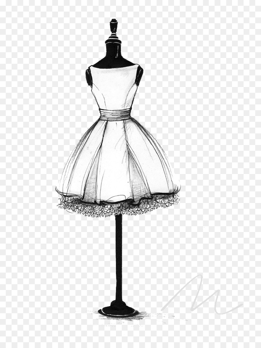 Wedding Dress Png Sketches - Wedding dress Drawing Gown Sketch - Little black dress png ...