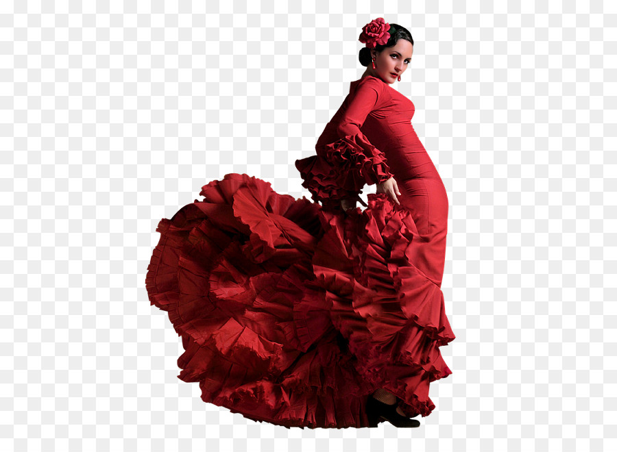 Flamenco Fashion Png - Wedding Flower Background png download - 522*651 - Free ...
