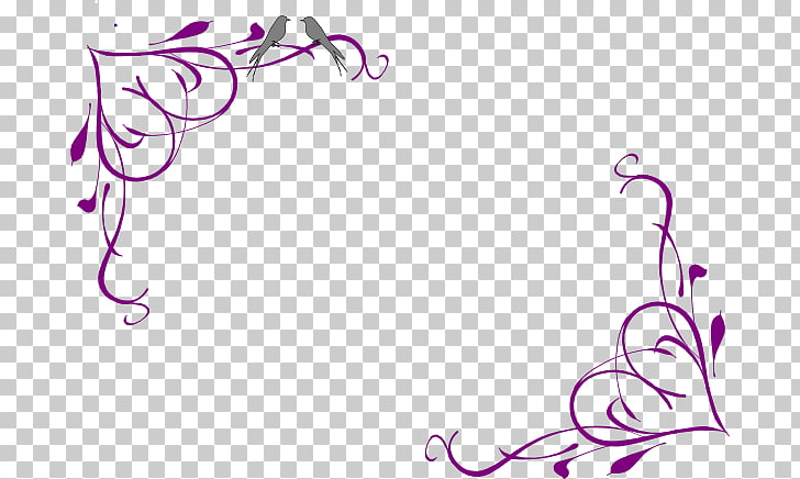 Wedding Invitation Borders And Frames 1268226 Png Images Pngio