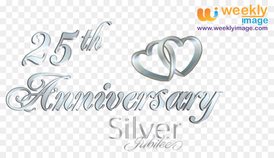 25th anniversary png silver wedding anniversary png & free silver wedding