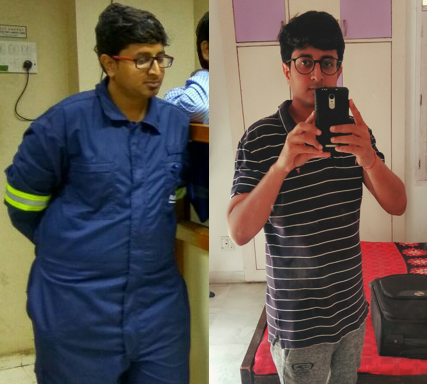 Weight Loss Story This Man Lost 24 Kgs 460854 Png Images Pngio