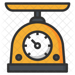 Weight Scale Icon Of Colored Outline Sty Png Images Pngio