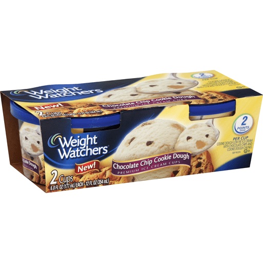 Weight Watchers Ice Cream Cups Png - Weight Watchers Ice Cream Cups, Premium, Chocolate Chip Cookie ...