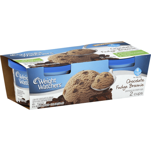 Weight Watchers Ice Cream Cups Png - Weight Watchers Ice Cream Cups, Premium, Chocolate Fudge Brownie ...