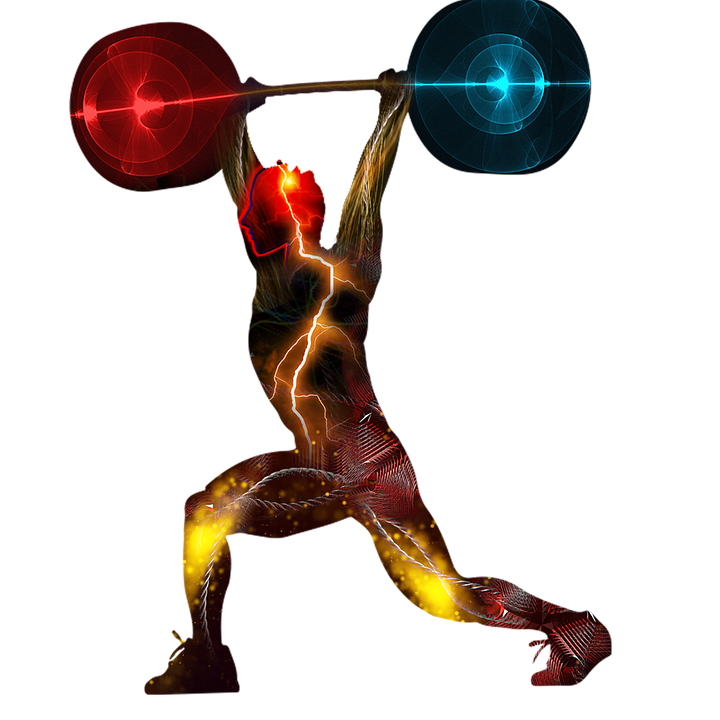 Weight Lifting Png Hd - Weightlifting Clean Jerk - Free image on Pixabay