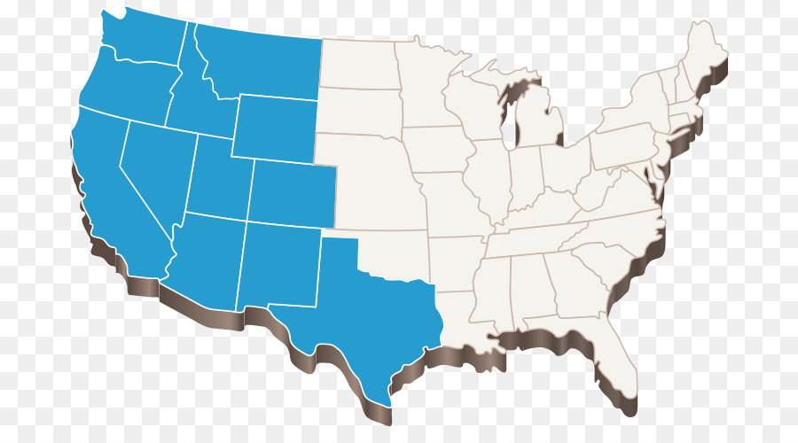 Map Of Western Us Png Free Map Of Western Us Png