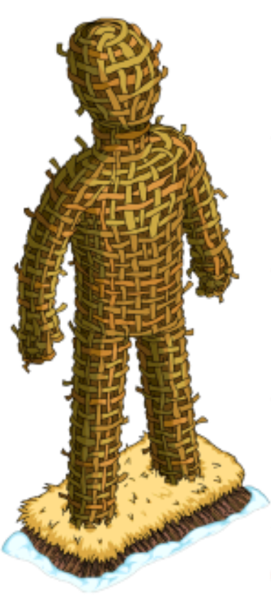 Wicker Man Png - Where Did THAT Come From – WickermanThe Simpsons Tapped Out ...