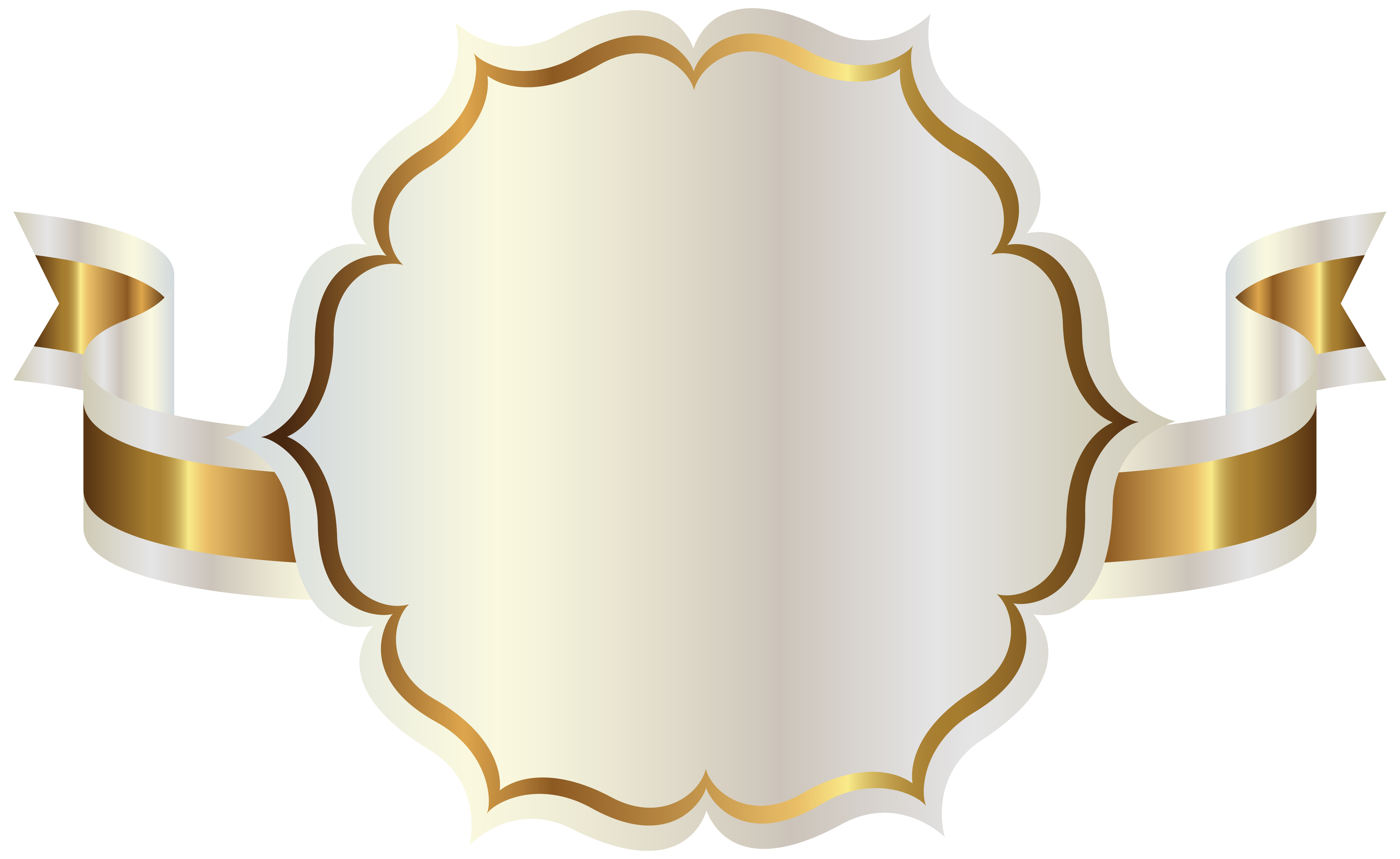 White Png Label With No Background - White Label with Gold Ribbon PNG Clipart | Gallery Yopriceville ...