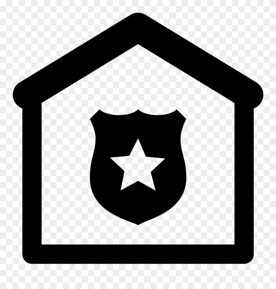 Police Station Png - White Police Badge Png - Police Station Icon Png Clipart (#473263 ...